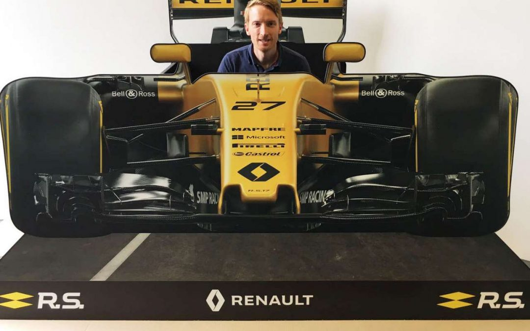 A Custom Designed FSDU for Renault F1